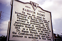 Baruch slept here sign