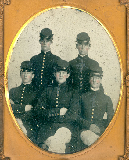 Morrison in group at VMI September 1860