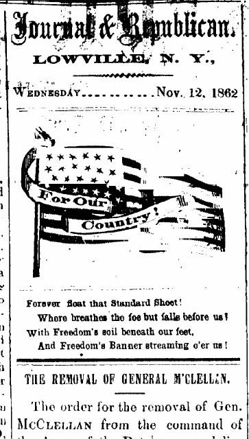 Lowville (NY) Journal&Republican (October 1862)