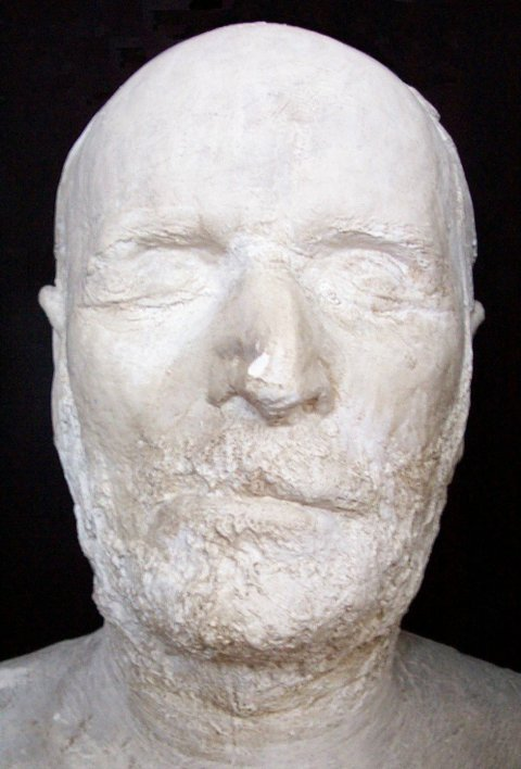 WT Sherman death mask
