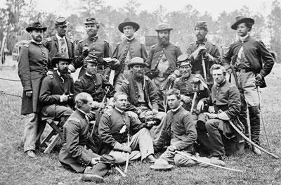 Horse Artillery Officers, AOP, 1862