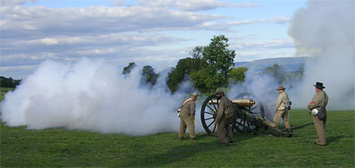 Napoleon firing at ANBP, September 2007