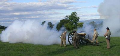 Napoleon firing at ANBP, September 2007