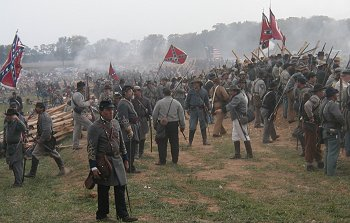 Florida reenactors at Sharpsburg 2002