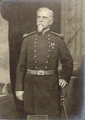 Superintendent JM Wilson, c. 1889