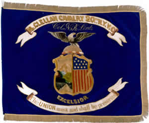 20th NY Cavalry flag (NYSMM)