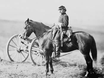 A.V. Colburn, mounted, Nov 1862
