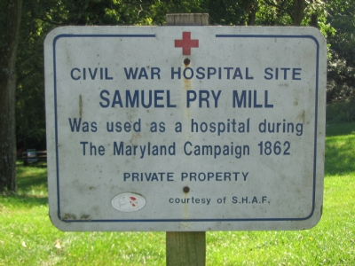 Pry Mill Marker (C. Swain)