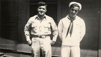 E.L. Fanjul and brother Estrada (1921-2004), 1944