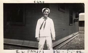 E.L. Fanjul, Seaman First Class, USN, 1944