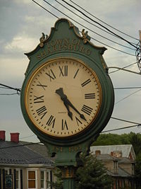 Sharpsburg street clock (wikipedia)