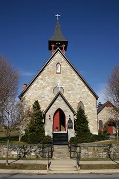 St. Paul's, Sharpsburg (from church site)