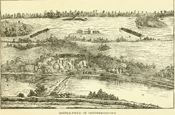 View of the Battlefield