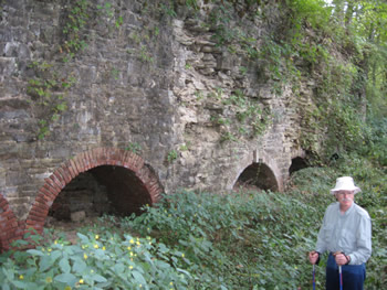 Kilns along river