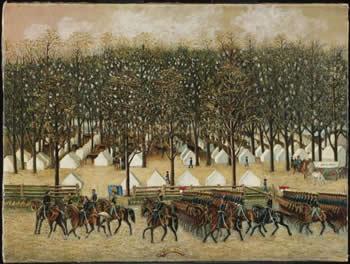 4th PA Cavalry near Washington DC, 1861