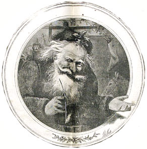 Santa Claus by Thomas Nast, 1865