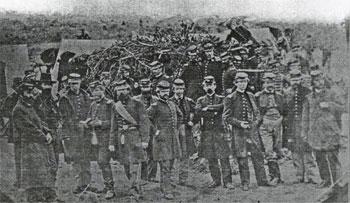 14th US Infantry at Alexandria, Va, March 1862 (USAMHI/MOLLUS)