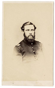 L. Reed, Sgt. Co. G, 12th Mass Vol Infy (CDV from Cowans)