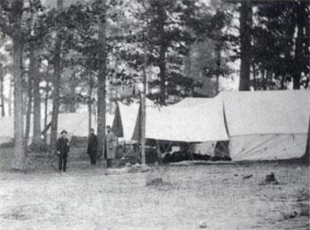 Smoketown Hospital, 1862 (from Zeller)