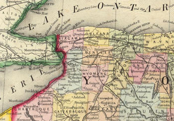 Western NY State, 1860
