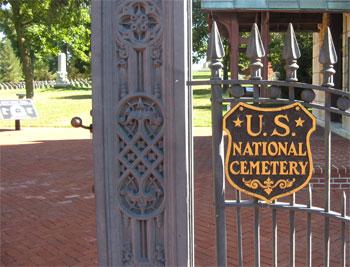 Gate at Antietam Cemetery