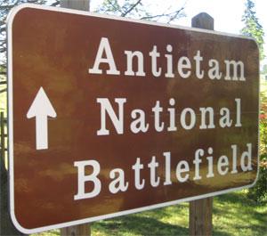 battlefield sign