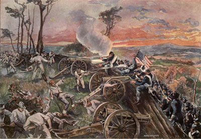 Storming Missionary Ridge (Alexander O Levy from Phisterer Vol IV)