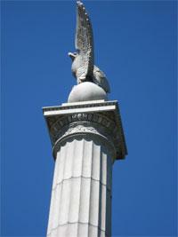 NY Monument eagle