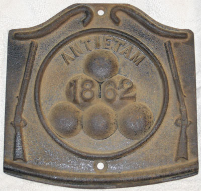 Antietam Plaque