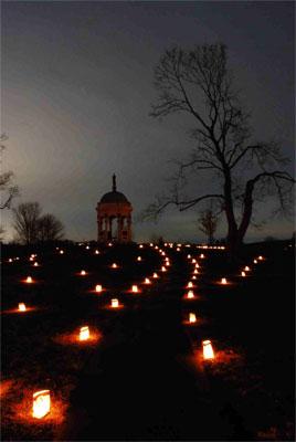 Illumination - Maryland Monument