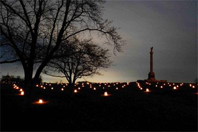 Illumination - New York Monument