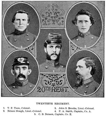 Officers of the 20th NCST
