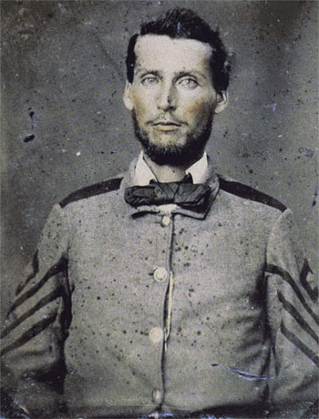William B. Whitaker, 1st Sgt, Co. I, 16th NC Infantry (c. 1861)