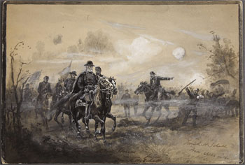 Generals Sumner and Sedgwick (F.H. Schell, 17 September 1862, Heritage Auction Galleries)