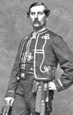 Capt TF Meagher, Co K, 69th NYSM (1861, US Army photo collection)