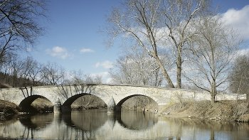 Antietam Battlefield's Burnside Bridge, Sharpsburg, Maryland