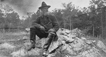 Turner G Morehead on the battlefield of Antietam