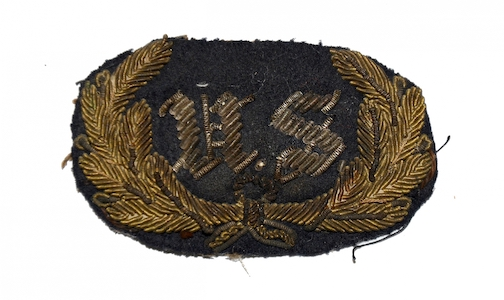 US Staff Officer hat badge